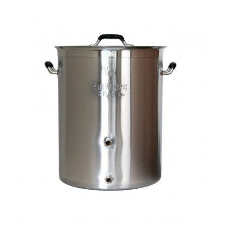 Brewer's Best Kettle w/Two Ports