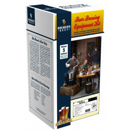 Brewer's Best Deluxe Beer Brewing Equipment Kit