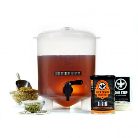 1-Gal Twisted Monk Witbier Beer Kit