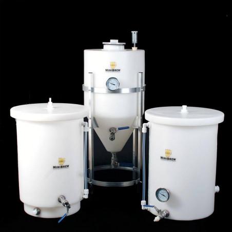 15 Gallon Fermenter, Hot Liquor Tank & Mash Tun Kit
