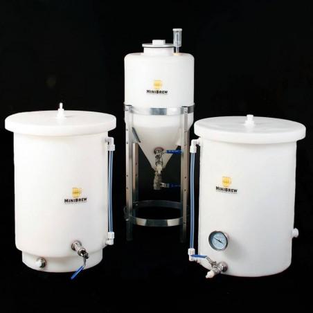 6.5 Gallon Fermenter, Hot Liquor Tank & Mash Tun Kit