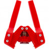 Emily Wing Capper, Red Plastic