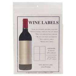 Bottle Labels - Wine - Pack...
