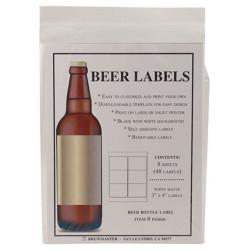 Bottle Labels - Beer - Pack...
