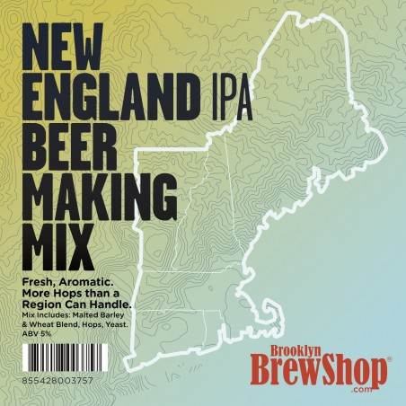 New England IPA 1 Gallon (3.8 L) Beer Recipe Kit