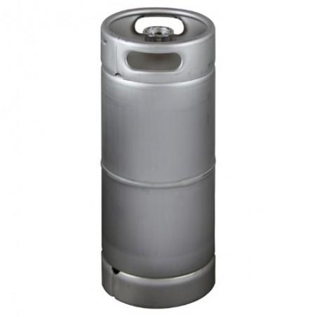 Stainless Steel US Sanke Keg - 5.16 gal.