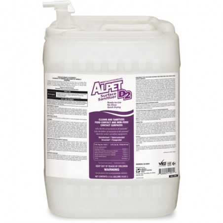 Alpet D2 Surface Sanitizer - 5 gal.