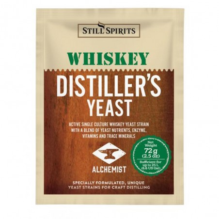 SS Distiller's Yeast Whiskey w AG 72g