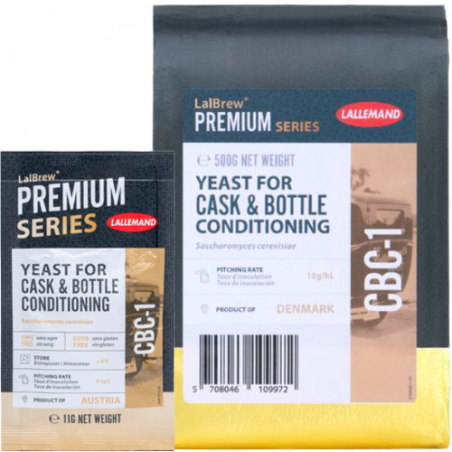 LalBrew CBC-1 Cask & Bottle Conditioning Yeast