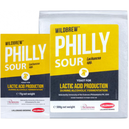 Lallemand WildBrew Philly Sour Lachancea spp. Yeast for Lactic Acid Production