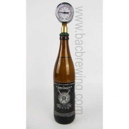 BacBrewing Aphrometer (0-6 Bar) for Bottles