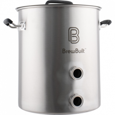 BrewBuilt Brewing Kettle with Tri-Clamp Fittings -  15 Gallon