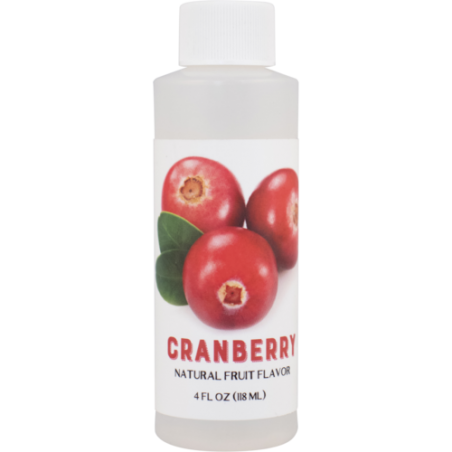 Natural Cranberry Flavoring Extract (4 oz)