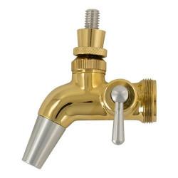 Intertap Forward Sealing Gold Plated Flow Control Faucet