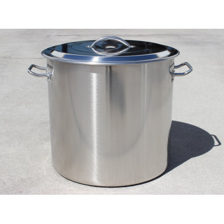 E-Series Stainless Steel Brew Kettle w/ Domed Lid