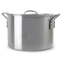 2 Gallon / 8 Quart Aluminum Stock Pot