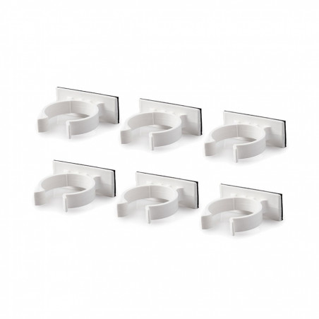 FlyPunch! Industrial Adhesive Wall Clips
