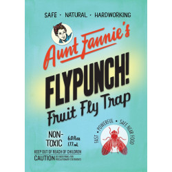 FlyPunch! Dive Jars - Fruit Fly Trap