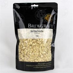 Grain Millers Flaked Oats, Pre-Gelatinized