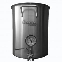 Chapman Heavy Kettler Tri-clad Brew Kettle