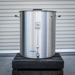 Ss Brewing Technologies 30 Gallon Stainless Steel Brew Kettle