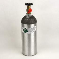 5 lb Co2 Cylinder - Empty, New