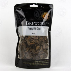 American Oak Chips, Toasted - 4 oz Package