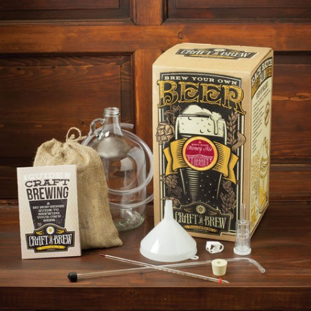 Craft a Brew 1 Gallon White House Honey Ale Brewing Kit