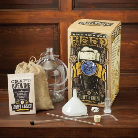 Craft a Brew 1 Gallon Seventh Sun Intergalactic Pale Ale Brewing Kit