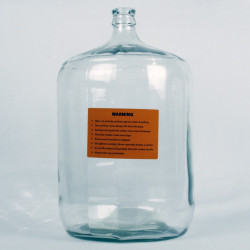 Glass Carboy, Small Mouth,...