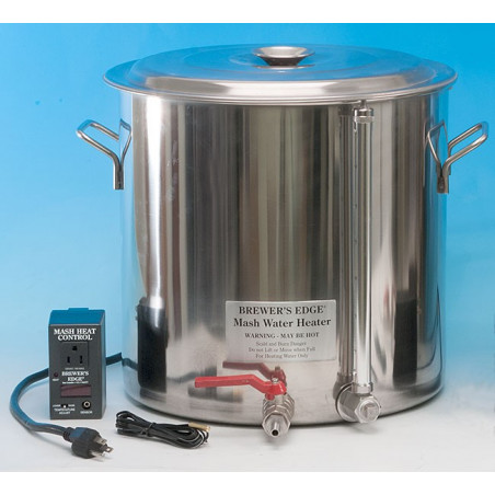 7 Gallon Mash Water Heater With Control