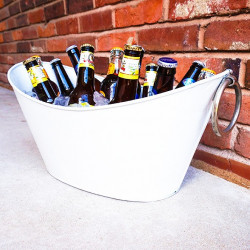 BrekX White Wave Beverage Tub
