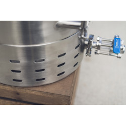 10 gal   Ss Brew Kettle Brewmaster Edition