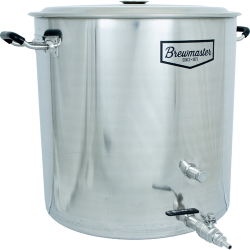 18.5 Gallon Brewmaster Stainless Steel Brew Kettle