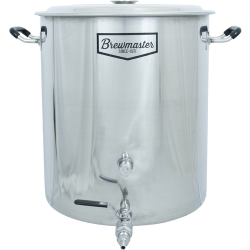 14.5 Gallon Brewmaster Stainless Steel Brew Kettle
