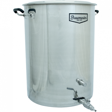 Brewmaster Stainless Steel Brew Kettle - 25 gallon