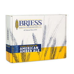 BRIESS Better Brewing American Amber Ale 5 Gallon Homebrew Recipe & Ingredients Kit