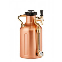 GrowlerWerks UKeg 64 oz Pressurized Copper Growler