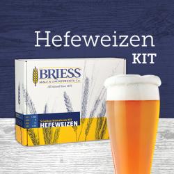 BRIESS Better Brewing Hefeweizen 5 Gallon Homebrew Recipe & Ingredients Kit