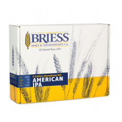 BRIESS Better Brewing American IPA 5 Gallon Homebrew Recipe & Ingredients Kit