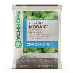 LupuLN2 Pellets, Cryo Hops Mosaic- 1 oz Package