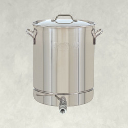 Bayou Classic Stainless Stockpot with Spigot