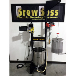 "Brew-Boss Brew Stand with 22""x22"" Platform"