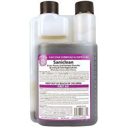 Saniclean Low-Foam Acid Based Sanitizer