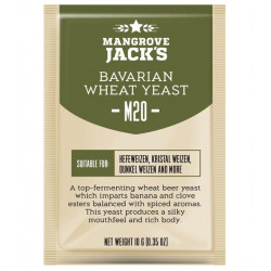 Mangrove Jack's M20 Bavarian Wheat Craft Series Yeast