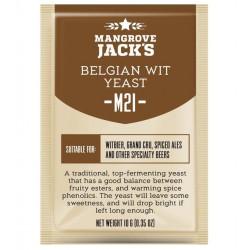 Mangrove Jack's M21 Belgian Wit Craft Series Yeast