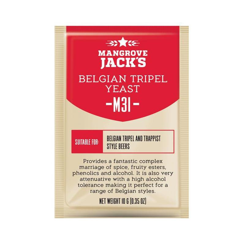 Mangrove Jack's M31 Belgian Tripel Craft Series Yeast