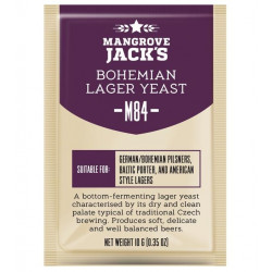 Mangrove Jack's M84 Bohemian Lager Craft Series Beer Yeast 10 G for 6 Gal
