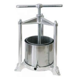 Fruit Press, Aluminum / Stainless Steel Medium 3lt cage
