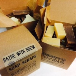 Bathe With Beer Soap Scrap Box